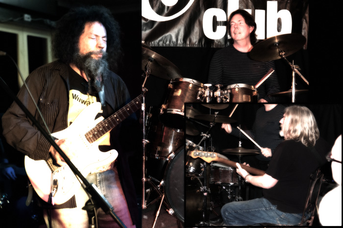 Billy Warner Trio Hobart Blues Club