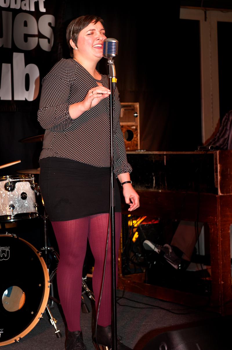 Katy-Raucher-Hobart blues Club 5 Sept 2017