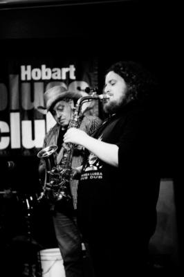 Blues underground HBC Guest Sax
